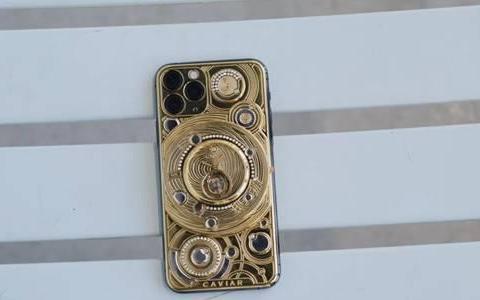iPhone界的奢侈品,全身由黄金打造,售价高达70万