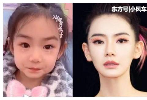 """有一种""""霸道遗传""""叫戚薇,女儿像自己的翻版,网友:李承铉完败"""