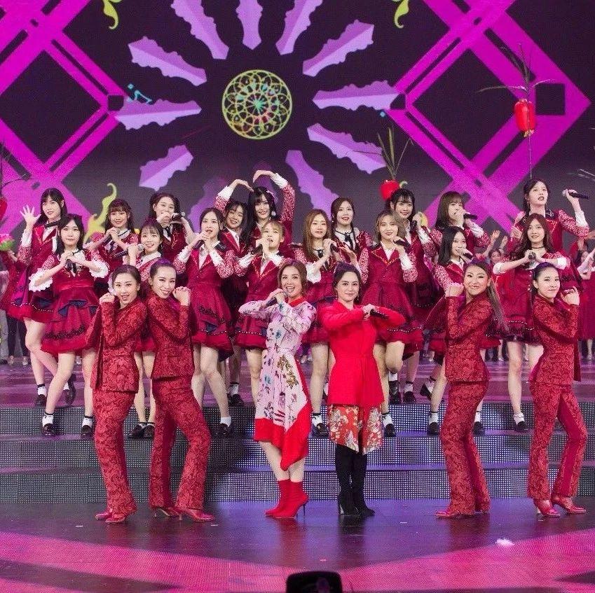 """Twins合体与GNZ48同台亮相广东卫视春晚,两代""""女团""""精彩歌舞贺新年!"""