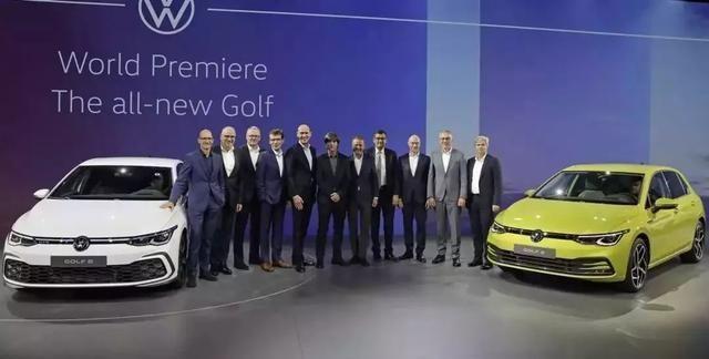 第八代高尔夫GTI无伪装曝光,同时将推出5款性能车型