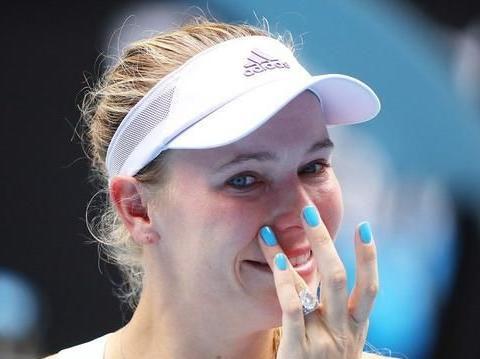 丹麦甜心泪洒赛场 沃兹尼亚奇澳网出局后宣布退役