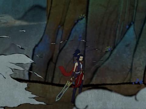 玩家自制玉剑传说同人动画,满满的回忆,等一个LOL大电影!