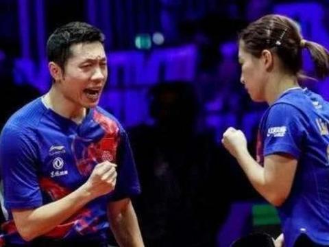 许昕与刘诗雯迎来好消息,成为奥运会第一队组合,昕雯冲呀