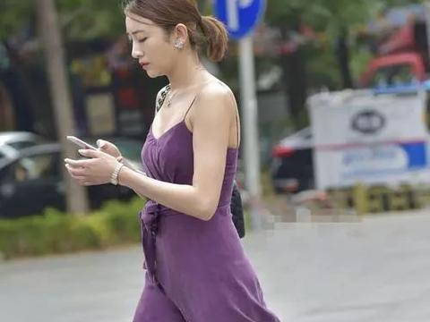 街拍美女 高跟鞋时尚浪漫