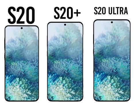 三星Galaxy S20系列三款新机官方渲染图曝光 全系支持5G价格不低