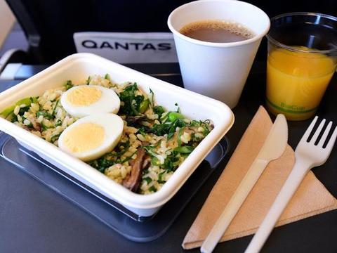 航空公司的食物浪费是个大问题,没想到香蕉叶被伦敦用作解决方案
