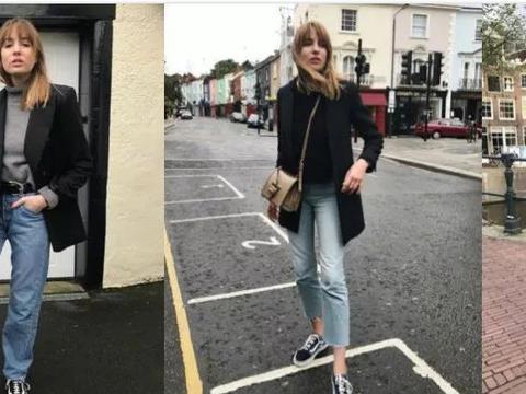 简单又实用,跟着英国博主用牛仔裤营造出简洁而多变的时髦造型