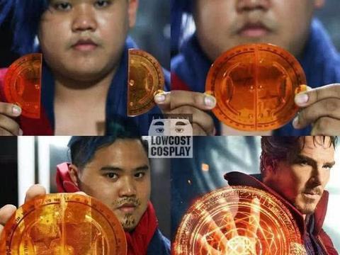 泰国小哥cos漫威超级英雄,冬兵神还原,用马桶cos红坦克!