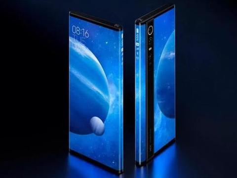 """小米MIX Alpha手机首次采用""""环绕屏""""设计"""