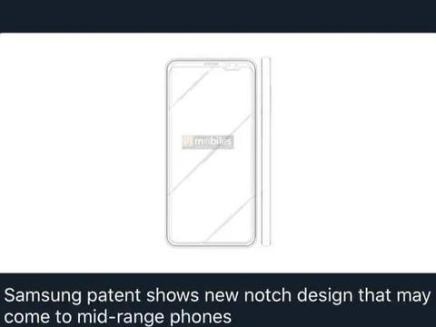 全面屏全新设计方案!三星申请新专利,或用于终端机系列