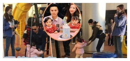 熊黛林夫妇带女儿游玩,郭可颂全程照顾很贴心,一家四口十分温馨