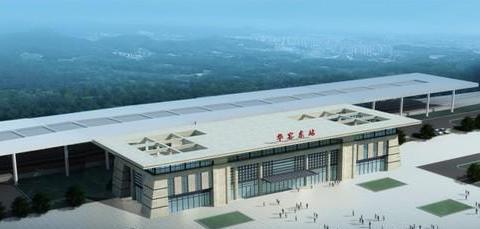 武汉至黄冈城际铁路出葛店南站后的第一站——华容东站