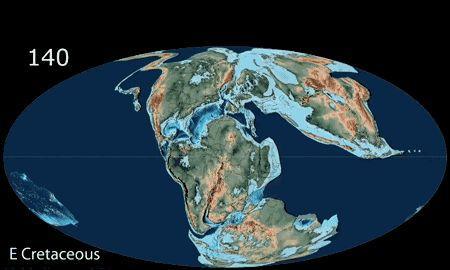 为什么地球南极是大陆北极是大海,自转和大陆漂移是主要原因吗