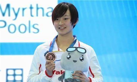 刘湘与张雨霏这两位泳坛两位美女,究竟谁能胜任容貌担当呢?