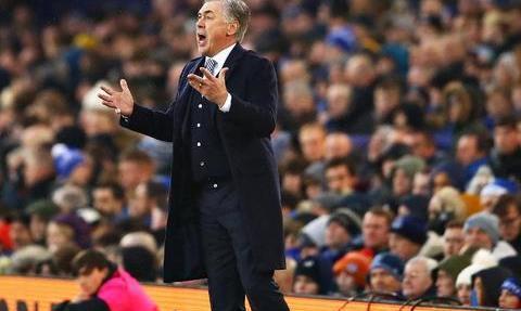 安切洛蒂的埃弗顿现实-世界名帅执教,球员尽是豪门俱乐部弃用