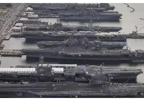 美国为什么有那么多财力来养11个航母打击群,钱是从哪里来的?