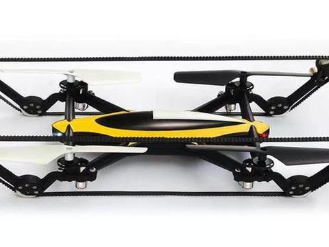国外牛人研发能飞能跑的无人机,只需一键就能自由切换,太酷了