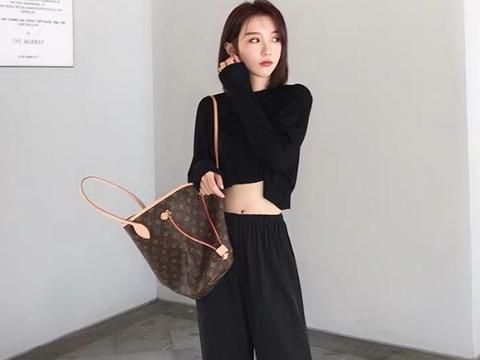 冬天要怎么穿才能显腿长?学大表姐刘雯的日常穿搭,秒变大长腿