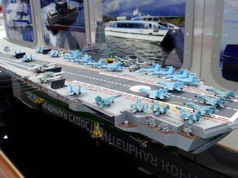 俄海军雄心勃勃,计划砸3000亿造核动力航母,为目前全球最大