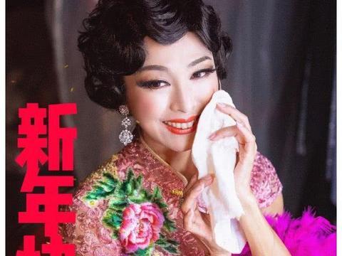 64岁米雪晒复古美照,妆容精致造型百变,一颦一笑尽显少女风范