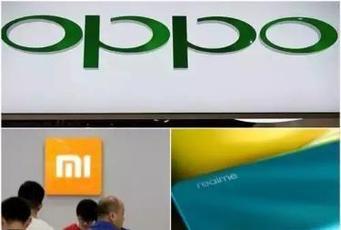 印度前五大智能手机公司中国占四席,国产手机市场份额超72%!