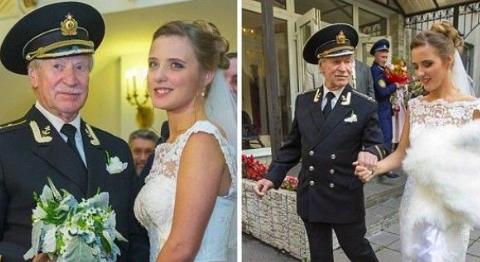 世界上年龄相差最大婚姻男子比女子大65岁,上演现实版泰坦尼克号