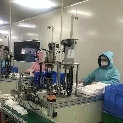 江西一企业紧急召回200多名员工 春节开足马力生产口罩