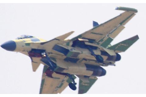 可瞬间瓦解敌人防线!歼15D或已投入实战,国产航母如虎添翼