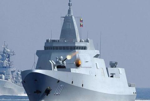 全身上下都是黑科技,外形比055大驱还科幻,这才是真正隐身舰