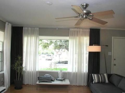客卧选购窗帘要注意,隐私性没保护好,窗帘就是摆设