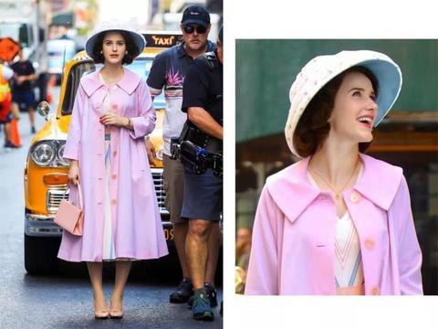被麦瑟尔夫人的美搭惊艳到!美式复古穿搭太优雅,都可截图当封面