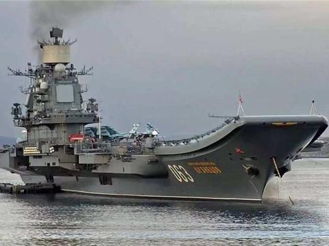 俄罗斯唯一一艘航母维修进度大曝光:全身被涂红色,凶多吉少