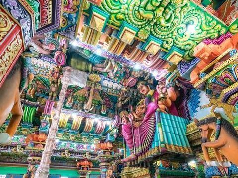 探秘斯里兰卡最奇异的印度庙,密集恐惧症者慎入