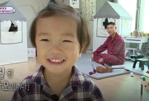 RM姜Gary时隔3年再上综艺,带着孩子录节目,2岁小朋友像足爸爸