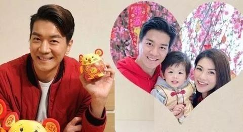 TVB小生鼠年努力追生宝宝 希望组织四口之家
