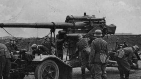 88毫米高射炮:二战德军防空作战主力,但却以反坦克而闻名于世