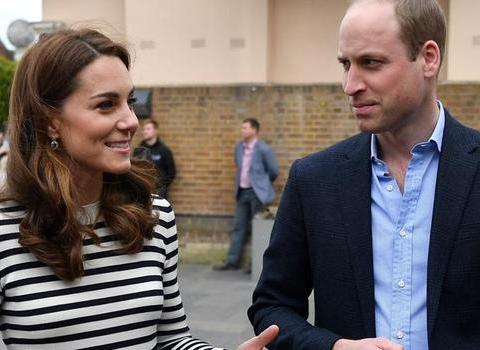 凯特王妃告别裙装改穿休闲裤装!走路之间飘逸的状态像是在拍广告