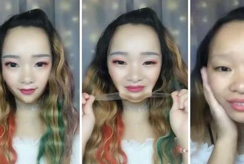 """抖音上美女卸妆吓坏老外:中国女孩的""""造假""""能力已""""登峰造极"""""""