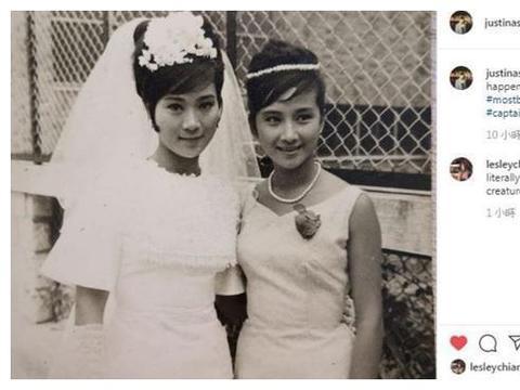 与陈宝珠54年前旧合照出土,16岁薛家燕激似何超莲