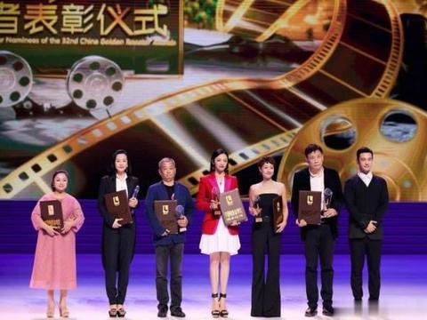 姚晨获金鸡奖最佳女主角提名,穿红西装配白裙,气场碾压马伊琍