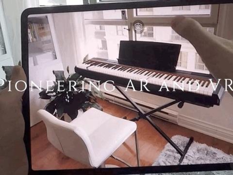 结合机器学习技术,AR虚拟钢琴应用《AR Pianist》