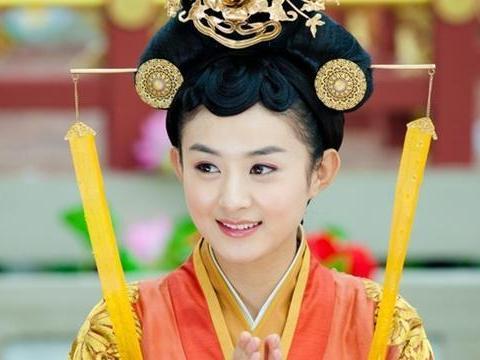 古装最美丽公主,热巴第6,谢娜垫底,范冰冰不敌演过3次公主的她