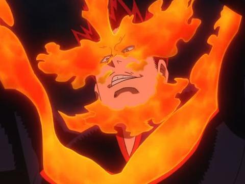 我的英雄学院:安德瓦的烈焰克制超级脑无,自信带队讨伐敌联合