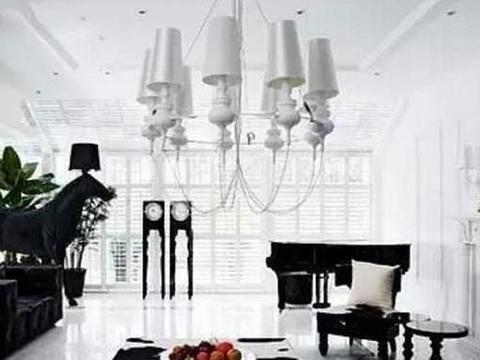 带你看看陆毅的豪宅,全屋装修都是白色,进门就让人感觉到冷清了