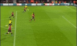 足总杯伯恩茅斯1-2阿森纳 萨卡一球一助 恩凯迪亚破门