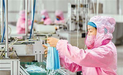 """西安市口罩消毒液生产厂家 开启""""全天候生产""""模式"""