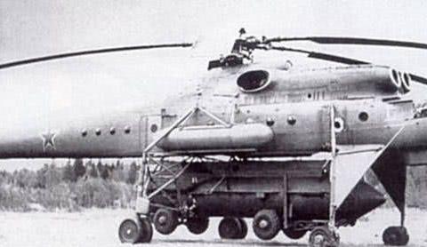 冷战让人脑洞大开,苏联把弹道导弹搬上直升机