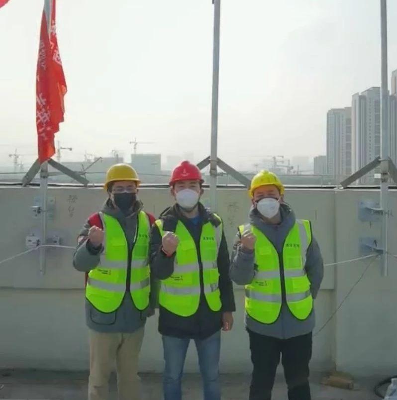 奋战一天一夜,中国铁塔完成武汉雷神山医院通信基站新建及改造任务