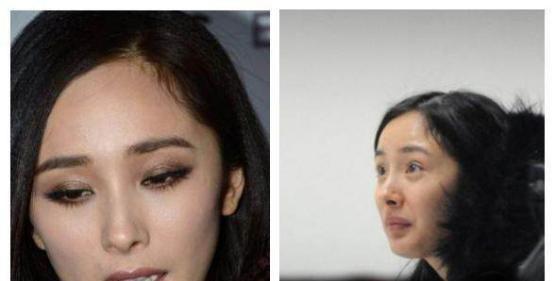 当女星没了眼妆 刘亦菲秒变豆豆眼 景甜变悲伤蛙 还是佟丽娅耐看