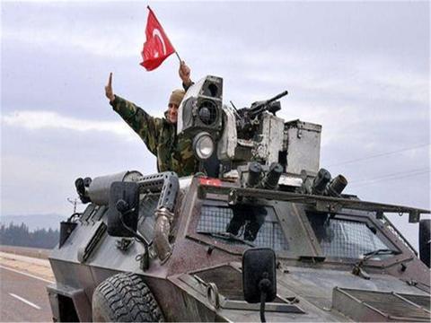 不宣而战土耳其大军突破叙利亚防线欲拦下老虎师部队一场血战在即